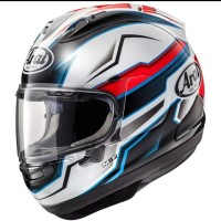 Helm Full Face Arai RX7X Scope White SNELL SNI Made In Japan
