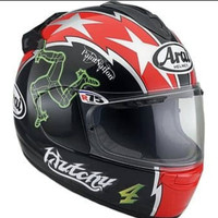 Helm Full Face Arai Vector X Hutchinson TT Made in Japan