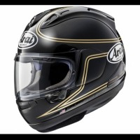 Helm Full Face Arai RX7X Spencer 40th Black SNELL SNI Made In Japan