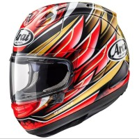 Helm Full Face Arai RX7X Nakagami GP SNELL SNI Made In Japan