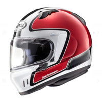 Helm Full Face Arai XD Outline Red SNI Made in Japan