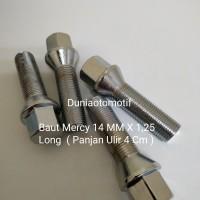 Baut Mercy Long 14 MM X 1.25 Panjang Ulir 4 Cm