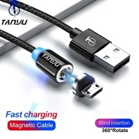 Tanyu Magnetic Micro Usb Cable 1M Fast Charging