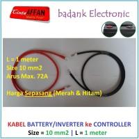 Kabel 10 mm2 Inverter / Battery ke MCB / SCC Panel Surya L = 1 meter