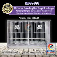 Kandang / Sangkar Burung Sekat Ukuran Besar [ Size L ] MPA-603