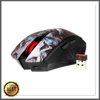 Bloody Wireless Mouse Gaming - R80 originaql mouse macro infrared
