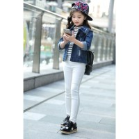 Celana Legging Anak Perempuan . Leging Putih Polos . PMI-2053