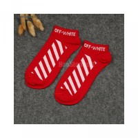 Socks Women s OFFWHITE Men s Cotton Brand Diagonal HAO Stripes Stockin