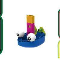Gigo Boat Engineer Educational Toys Mainan Edukasi .