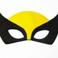 Topeng Superhero Wolverine Flanel Kostum Pesta Ulang Tahun