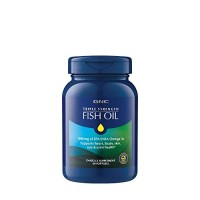 GNC Triple Strength Omega 3 Fish Oil 1000mg, 60 Count, Supports Joint,