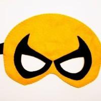 Topeng Superhero Iron Fist Flanel Kostum Pesta Ulang Tahun