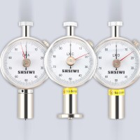 SHSIWI Free shipping portable Shore C Hardness tester double pointer L