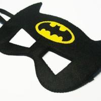 Topeng Flanel Superhero Batman Kostum Pesta Ulang Tahun