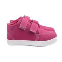 Sepatu Anak cewe umur 1 2 TAHUN velcro antislip. A01 Denim