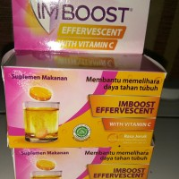 Imboost effervescent with vitamin c isi 8 tablet