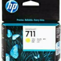 TINTA PRINTER HP 711 YELLOW ORIGINAL