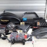 Paket Japstyle Gl pro Megapro Tiger Thunder 125 Scorpio Byson