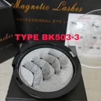 TRIPLE MAGNETIC LASHES /BULU MATA PALSU MAGNET [TYPE BK503-3]
