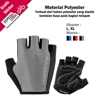Sarung Tangan Gloves Sepeda RockBros Half Finger