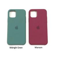 Case Silicone leather iPhone 11 pro max / soft case silicon premium