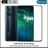 TEMPERED GLASS FULL LEM 9D VIVO V19 NEW 2020