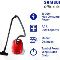 SAMSUNG Canister Vacuum Cleaner - VCC4130S37
