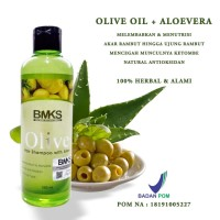 BMKS OLIVE SHAMPO ~ Dengan Kandungan Ekstra Olive OIL & Aloevera Alami