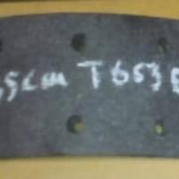 kampas rem depan fuso T 655/T 653 th 74-75