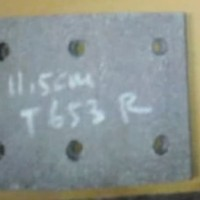 kampas rem belakang fuso T 655/T 653 th 74-75/nissan CM 80