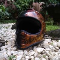 Helm Retro Cakil Custom - Slade
