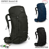 Tas Gunung / Carrier Osprey Kestrel 48 Include Rain Cover Original