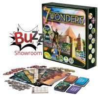 7 Wonders Seven Wonder Board Game
