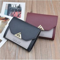 DOMPET WANITA MURAH DD07 KOREAN FASHION TRENDY FASHION WALLET REAL PIC