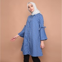 Cammomile Dress Wanita 1801016 - DARKBLUE, S
