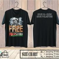 Kaos Palestina / Kaos Pejuang Islam / Kaos Hijrah