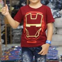 Kaos Anak Superhero IRONMAN IRON MAN STARWARS - S