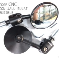 BAR END MIRROR SPION JALU BULAT W175 CAFE VESPA DAN LAIN-LAIN