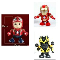3in1 Hero dance Ironman, Spiderman, Bumbelbee goyang
