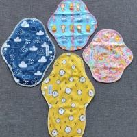 Reusable Menstrual Pad (Pembalut Kain) - 1 set (isi 4)