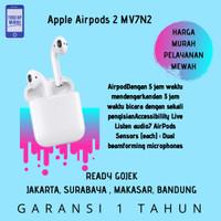 ORIGINAL Apple Airpods 2 WIRED With Charging Case Garansi Inter
