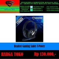 Headset Gaming Sades T-Power