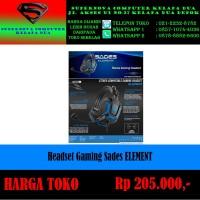 Headset Gaming Sades ELEMENT