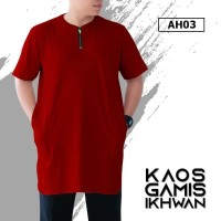 Kaos Gamis Pria Bigsize XXL, XXXL Size Jumbo