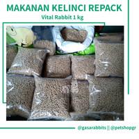 MAKANAN KELINCI - PELET KELINCI - VITAL RABBIT 1 kg - CITRAFEED