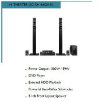 Home Theater Panasonic SC-XH166GA-K