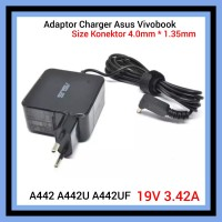 Adaptor Charger Laptop Asus Vivobook A442 A442U A442UF 19V 3.42A