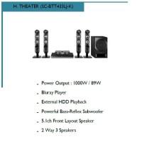Home Theater Panasonic SC-BTT433LJ-K