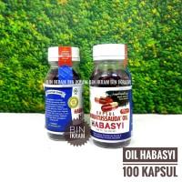 Habbatusauda Oil Habasyi Isi 100 Kapsul CV.Al Kautsar PI Habbasyi Oil