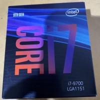 Prosessor Intel Core i7 9700 CoffeeLake 8-Core 3.6 GHz up to 4.7 GHz
